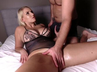 Rough fucking with busty blonde trophy wife Vanessa Cage. HD