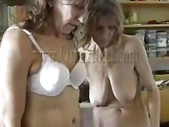 Like watching grannies having fun? If you do then check these two old saggy sluts. Because they wear denture and have some hip problems that doesn&