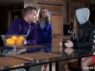 Brandi Love and Riley Reid want his hard dick