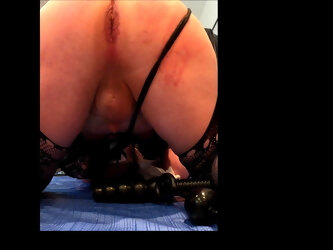 Ass gape in slow motion play SAMPLE