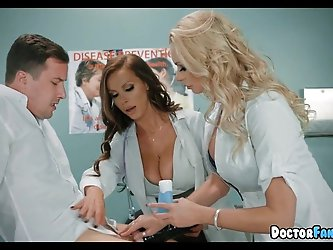 Horny MILF Nurses at the Hospital