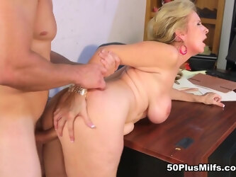 Laura's quick fix for an aching cock - Laura Layne, Gregory Layne, and J Mac - 50PlusMILFs