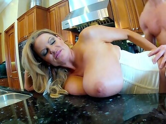 Busty step mom wants this dick to explode into her cunt