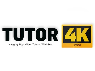 TUTOR4K. Guy bangs teacher and makes stepson watch because he is the debtor