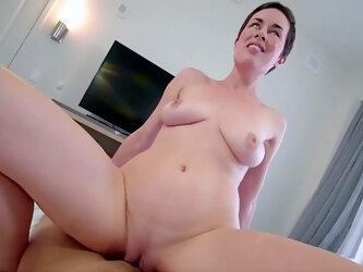 Addictive amateur with saggy naturals, full casting nude porn in POV