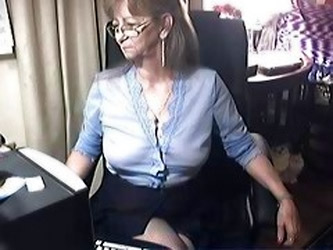 Lovely granny with glasses 6