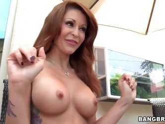 Does every MILF is so cock-hungry as this amazing busty female Monique Alexander? Not at all, the things she does with her mouth are worthy of the bes