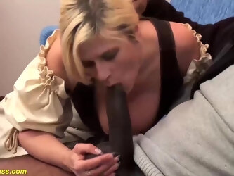 German MILF ass destroyed by a monster cock