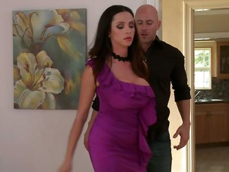 Ariella is hosting an important party for some rich neighbors in LA, she has gone through a lot to prevent Johnny Sins from coming; he has been known
