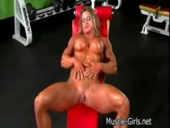 Muscle Women with big clit