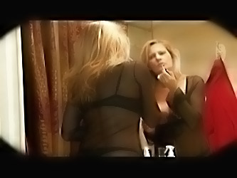 Hot Milf Strokes A Big Black Coc...