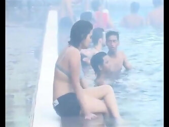 Sexy Party on Swimming pool