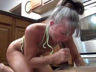 Camel Toes Kitchen - Milf Interracial