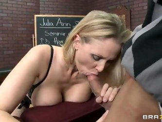 Julia Gets Oral Exam